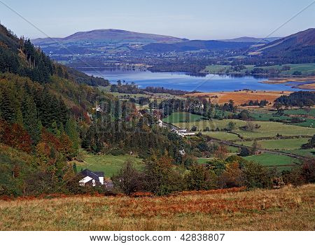 Bassenthwaite lake, Cumbria, England.