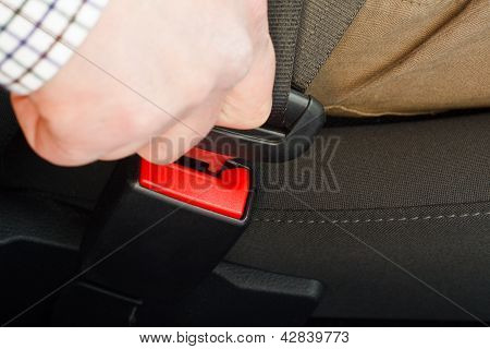 Fastening Seat Belt