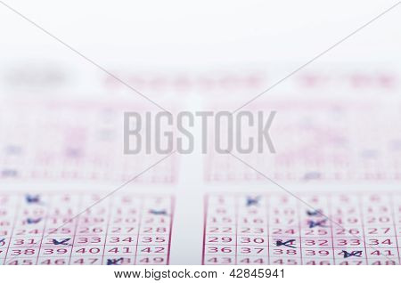 Marked Lottery Ticket