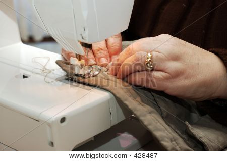 Sewing Hands.