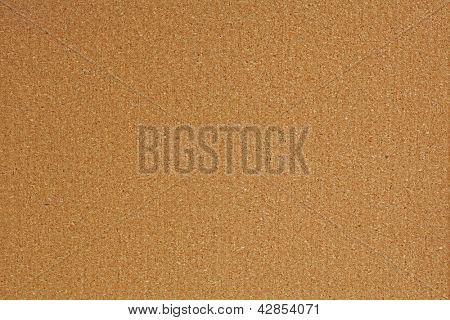 Blank cork bulletin board background