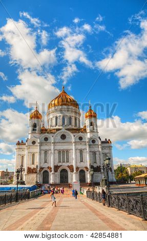 Temple Of Christ The Savior In Moscow