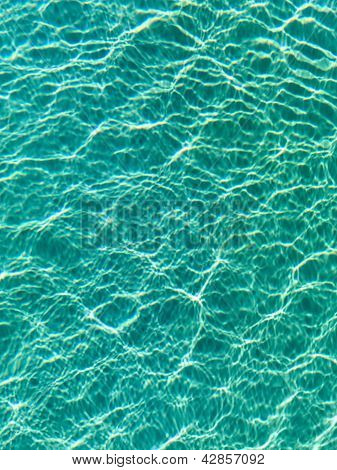 Blue Water Ripples