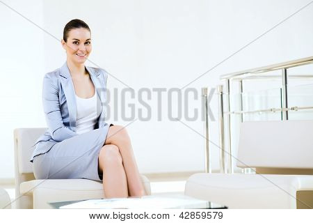 portrait successful business woman