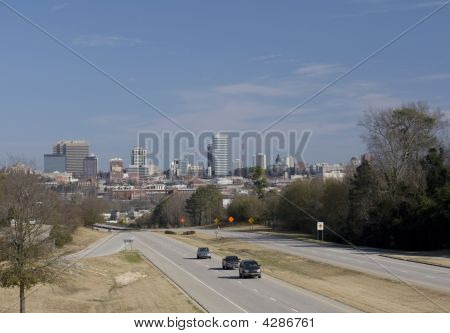 Columbia South Carolina Skyline