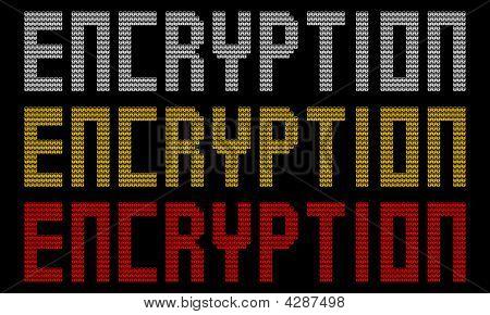 Encryption Text With Padlocks