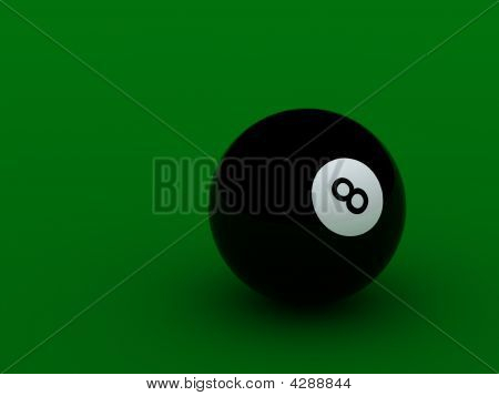 Black Pool Ball High Quality