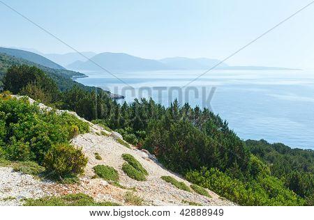View Lefkas Island (greece)