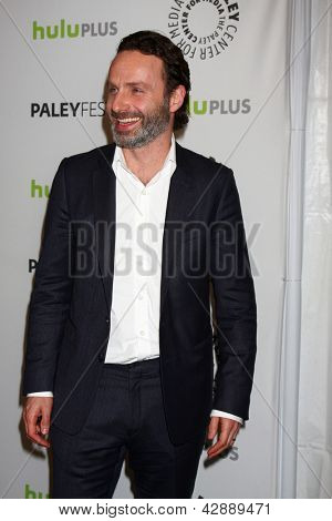 LOS ANGELES - MAR 1:  Andrew Lincoln arrives at the