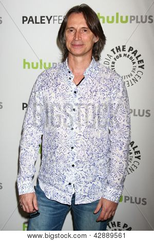 "LOS ANGELES - MAR 3:  Robert Carlyle arrives at the  ""Once Upon A Time"" PaleyFEST Event at the Saban Theater on March 3, 2013 in Los Angeles, CA"