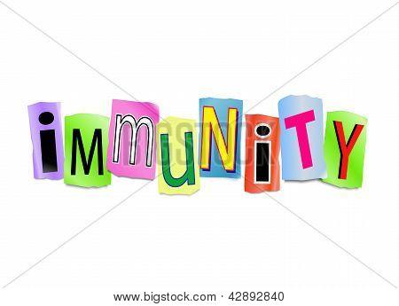 Immunity Concept.