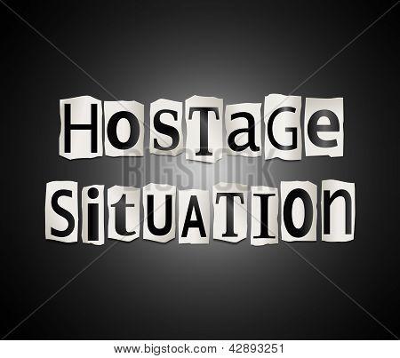 Hostage Concept.