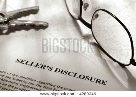 Real Estate Seller Disclosure Statement