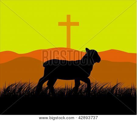 Lamb And Cross