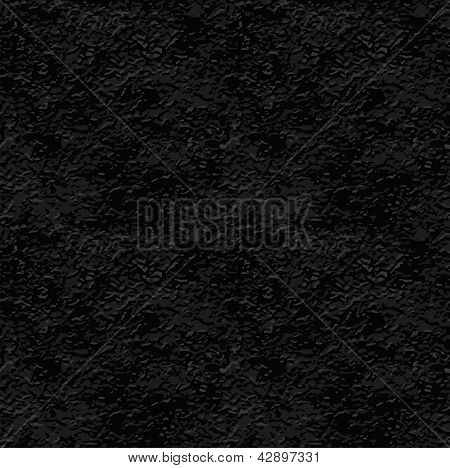 seamless texture of black stucco wall. Rasterized illustration. Vector version also available in my gallery.
