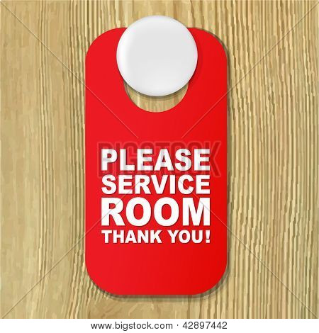 Do Not Disturb Red Sign