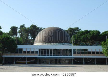 Planetarium Of Calouste Gulbenkian In Lisbon