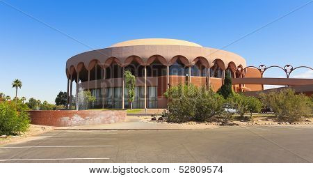 A Grady Gammage Memorial Auditorium Shot, Tempe