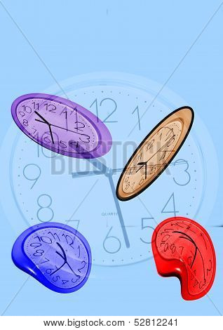 Bent Clocks