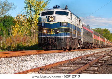 Scenic Passenger Train