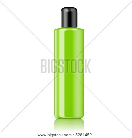 Color tubular bottle template.