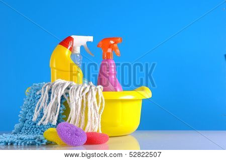 Cleaning, washing, vivid colors