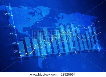 Stock Market Finance Diagram