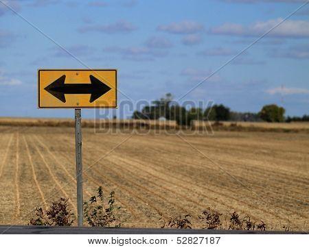 Road Ends Signage