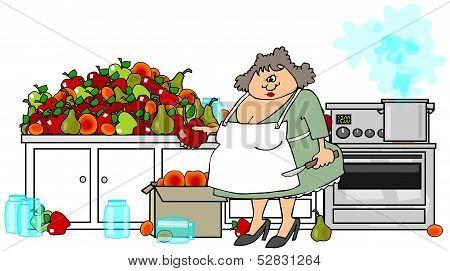 Canning fruit
