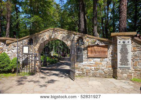Cemetery In Zakopane