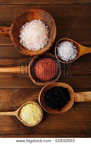 Himalayan Pink Crystal Rock salt Hawaiian Red Alaea Sea Salt Hawaiian Black lava sea salt Persian Blue Iranian Lemon Salt