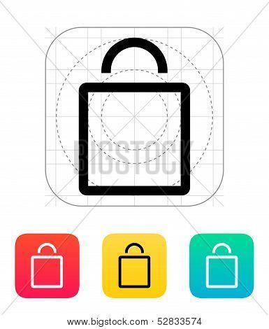 Empty bag icon.