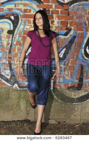 Leaning On A Wall