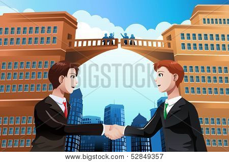 Business Merger Concept