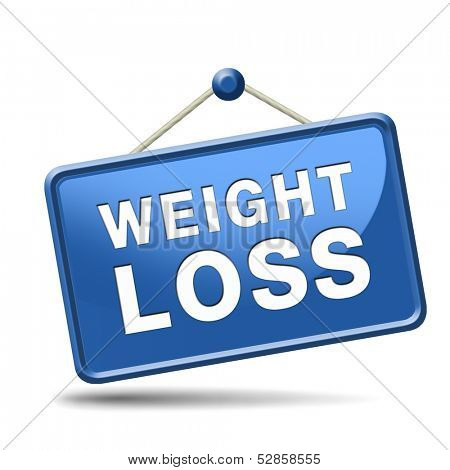weight loss icon sign or button lose extra pounds by sport or dieting losing kilos