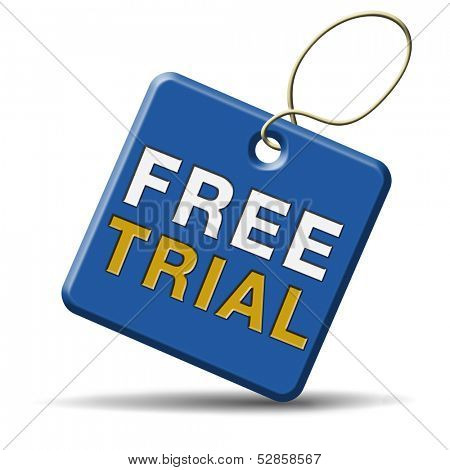free product trial sample. Test new items here and now, limiter offer. Icon sign or label for promotion and advertising.