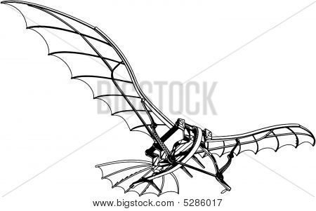 Flying Machine Based On The