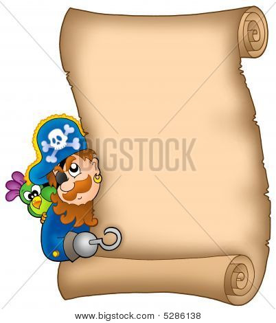 Pergamino con Lurking pirata
