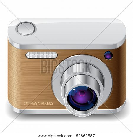 Icon For Compact Photo Camera