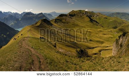 Vierwaldstattersee - Beautiful Lake In Switzerland