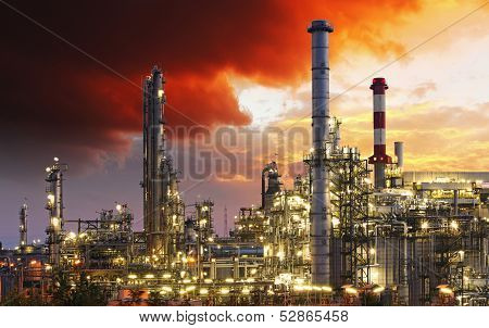 Oil Indutry Refinery - Factory