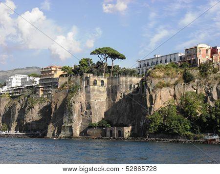 Landscape of Sorrento .
