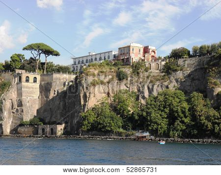 Landscape of Sorrento .