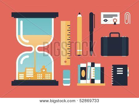 Conocimiento del negocio y logro ilustración