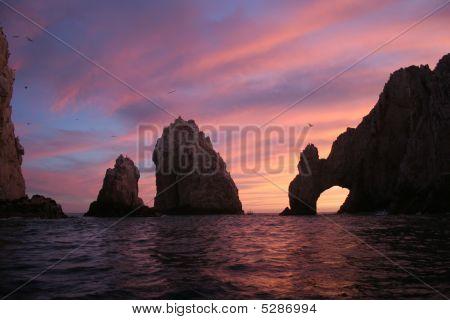 Cabo Scene Sunset