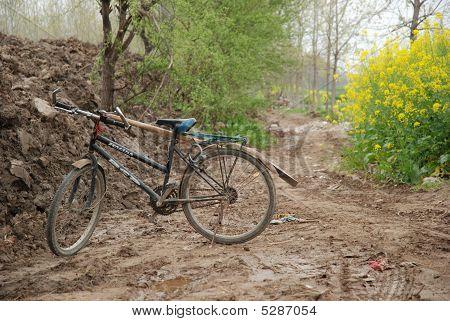 Bike on Dirt Road