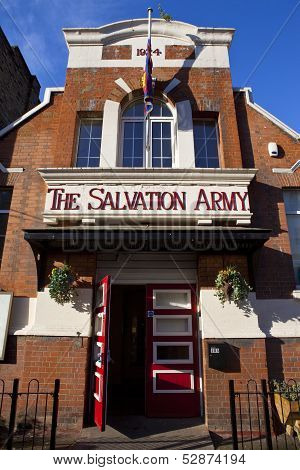Salvation Army In Portobello Road