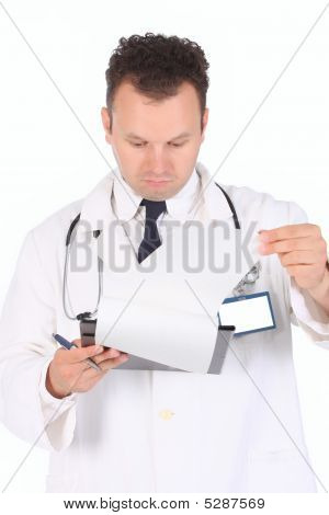 Doctor Reading