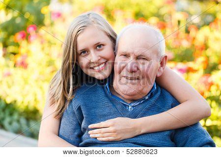 Loving Granddaugher