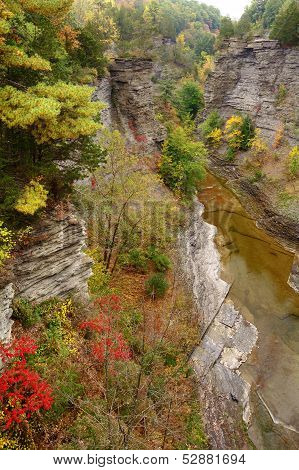 Taughannock Falls Gorge